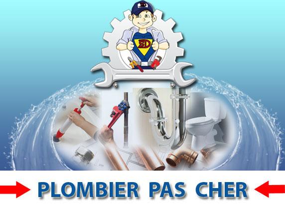 Wc bouché Paris 20
